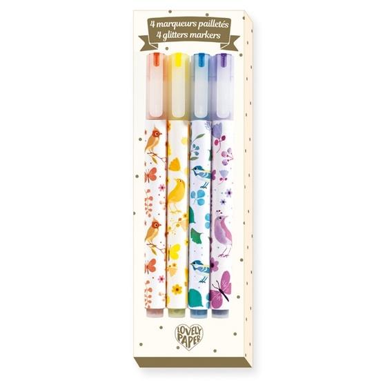 Djeco - Pennor - Glitter Marker - Tinou
