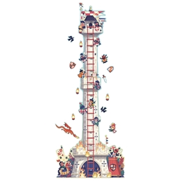 Djeco - Height Chart - Knights Tower