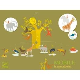 Djeco - Mobil - Afrikanska Savannen