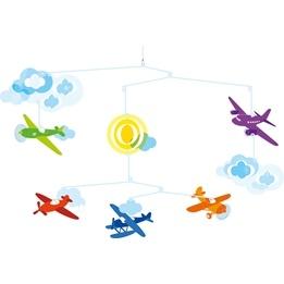 Djeco - Mobil - Flygplan