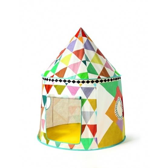 Djeco - Tält - Multicolored