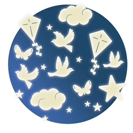Djeco - Wall Sticker - In The Sky