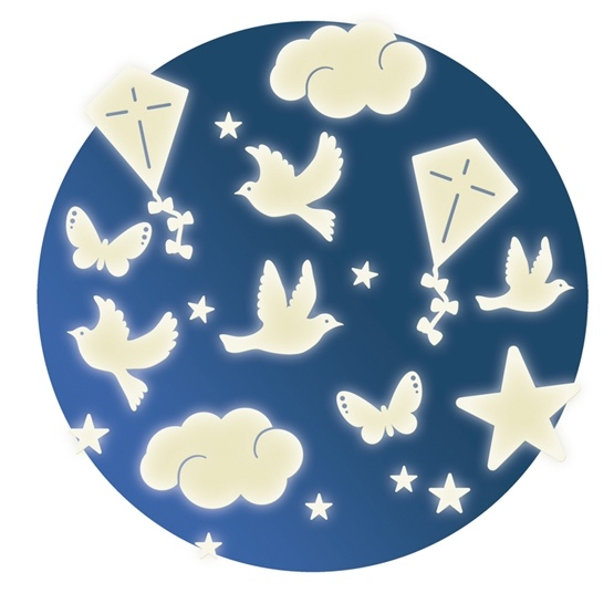 Djeco - Wall Sticker - In The Sky