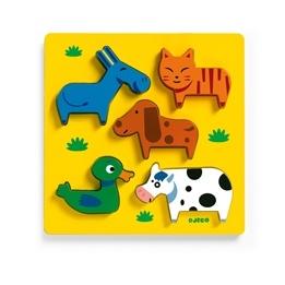 Djeco - Pussel För De Minsta Med Husdjur