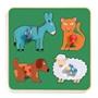 Djeco - Pussel - Family Farm Puzzle, 4 pcs