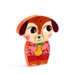 Djeco - Wooden Puzzle - Enzo & Co