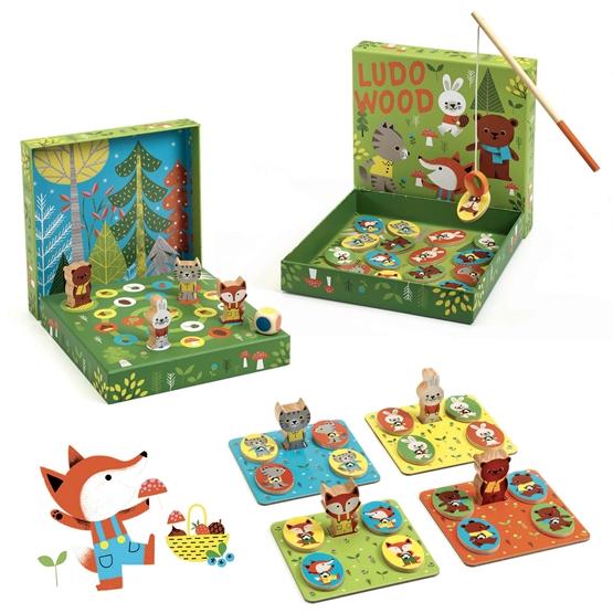 Djeco - Spel - Ludo Wood