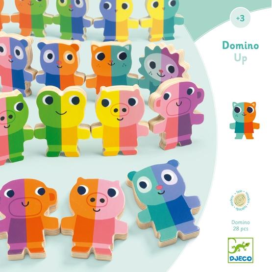Djeco - Spel - Domino Up