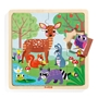 Djeco - Pussel - Wooden puzzle, Forest, 16 pcs
