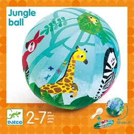 Djeco - Jungle Ball - 23 cm