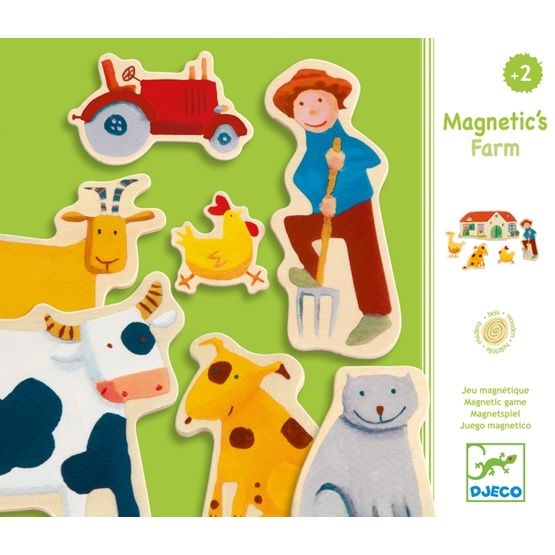 Djeco - Farm - Magnetlek
