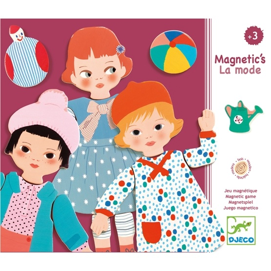 Djeco - Wooden Magnetic - La Mode
