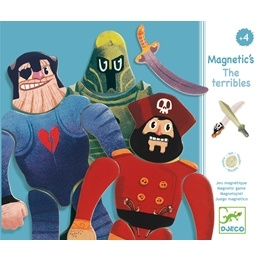 Djeco - Magneter - The Terribles