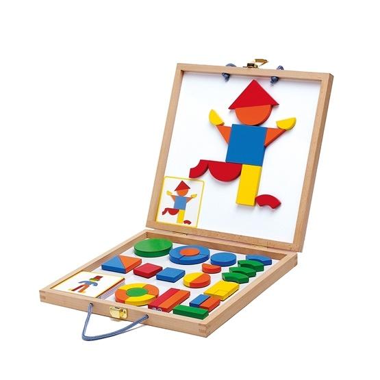 Djeco - Magneter - Form Och Färg