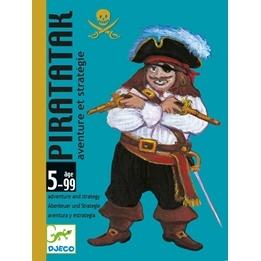 Djeco - Kortspelet Pirater
