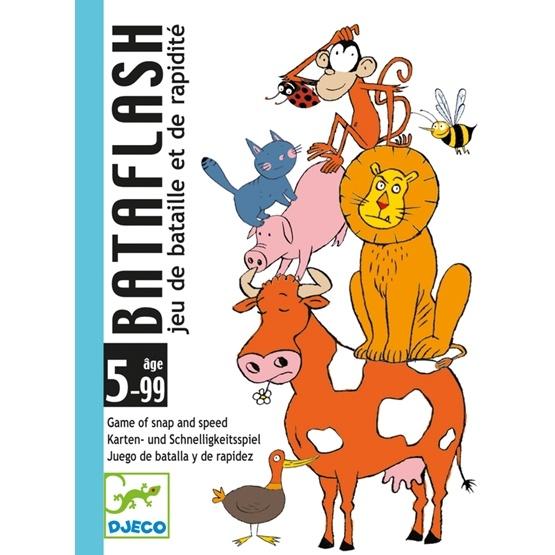 Djeco - Kortspelet Bataflash