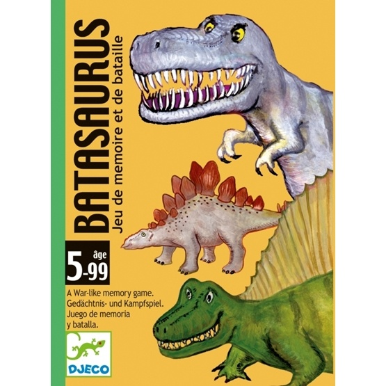 Djeco - Kortspel - Playing Card - Batasaurus