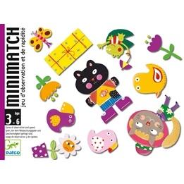 Djeco - Kortspelet Minimatch
