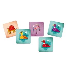 Djeco - Spel - Playing Card Crazy Ducks