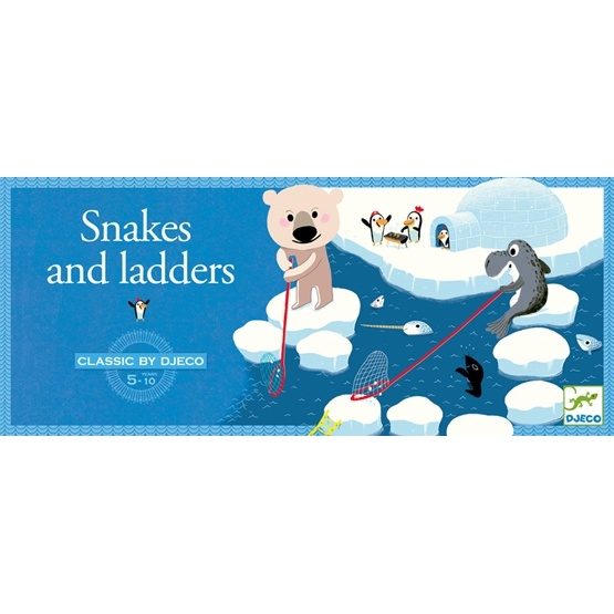 Djeco - Spel - Snakes And Ladders