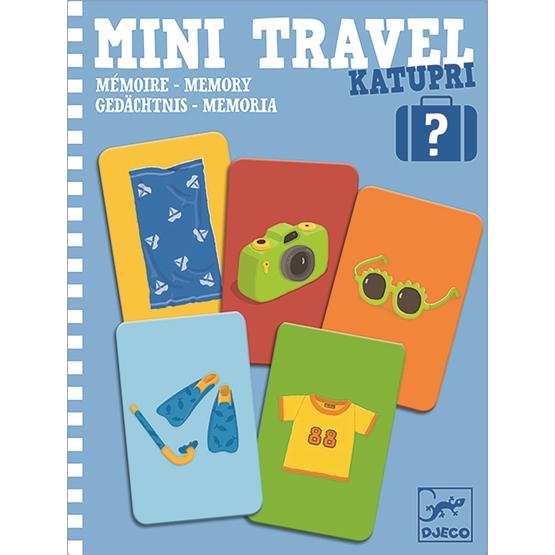 Djeco - Spel - Mini Travel, Katupri