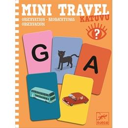 Djeco - Spel - Mini Travel Katuvu