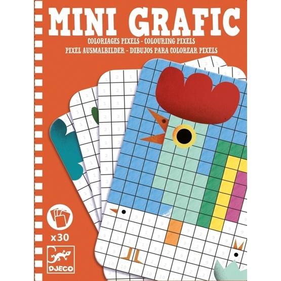 Djeco - Mini Grafic - Colouring Pixels