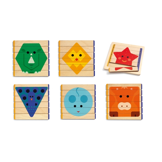 Djeco - Pussel - Puzzles Basic