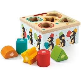 Djeco - Sorteringslådan Gea Pingvin