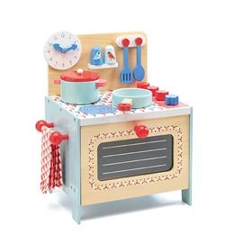 Djeco - Barnkök - Blue cooker