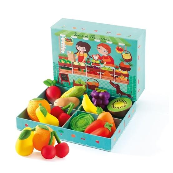 Djeco - Fruktstånd