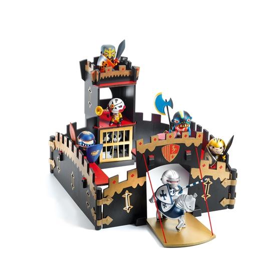 Djeco - Arty Toys - Knights - Ze Black Castle