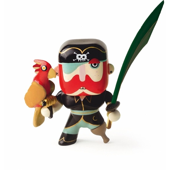 Djeco - Arty Toys - Piraten Sam Parrot