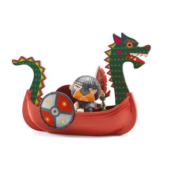 Djeco - Arty Toys, Drack & Ze Drakker