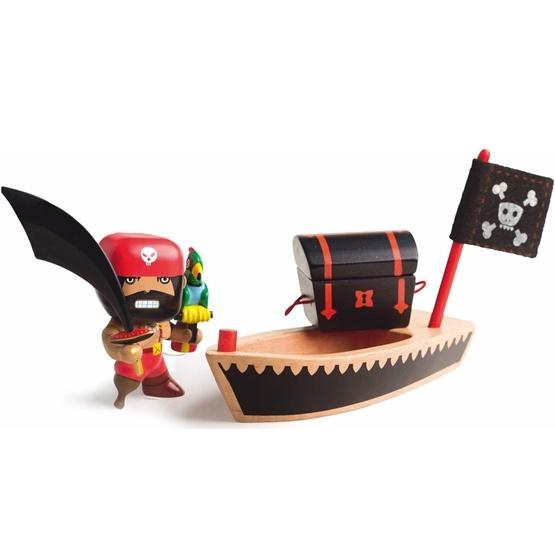 Djeco - Arty Toys - Piraten El Loco