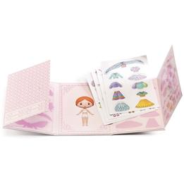 Djeco - Klistermärken - Miss Lilyruby - Stickers Removable