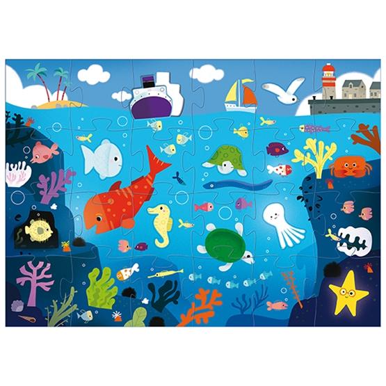 Djeco - Pussel - Under The Sea 32 pcs