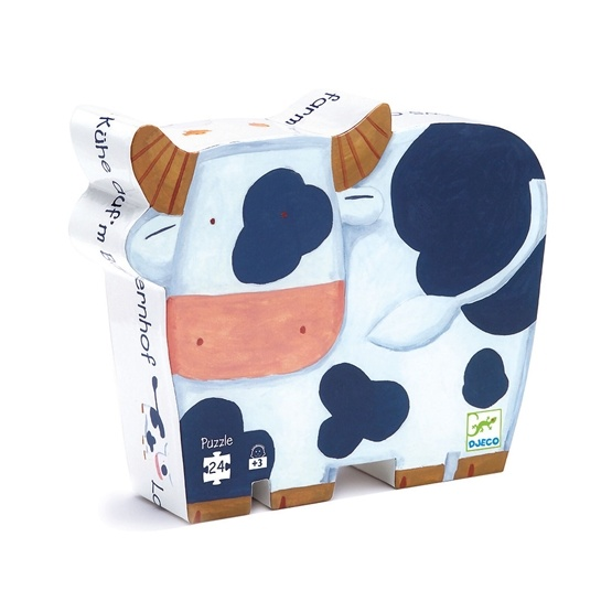 Djeco - The cows on the farm - 24 pcs