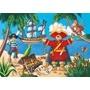 Djeco - Pussel - Piratskatten