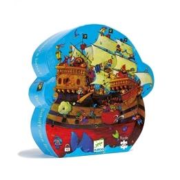 Djeco - Pussel - Barbarossas Piratskepp