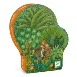 Djeco - Pussel - In The Jungle, 54 pcs
