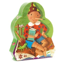 Djeco - Pinocchio - 50 Bitar