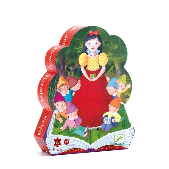 Djeco - Pussel - Snow White - 50 Pcs