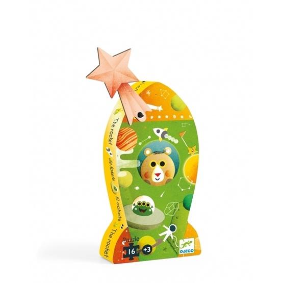Djeco - Siluettepussel - Rocket