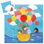 Djeco - Pussel - The hot air balloon, 16 pcs