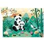 Djeco - Pussel - Leo the panda 24 pcs