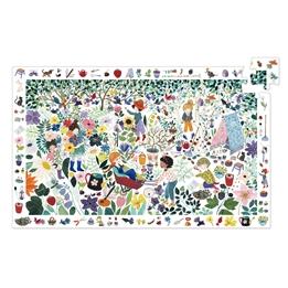 Djeco - Pussel - Observation Puzzle - 1000 Flowers 100 pcs