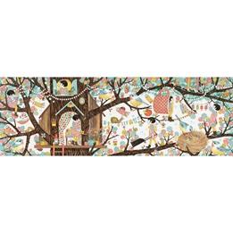 Djeco - Pussel - Tree House 200 pcs