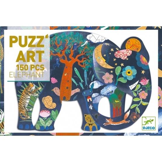 Djeco - Pussel - Puzz´Art - Elephant