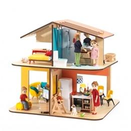 Djeco - Dockskåp - Modern House